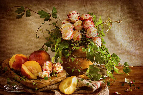 Quiet Moments Roses and Nectarines PS wm