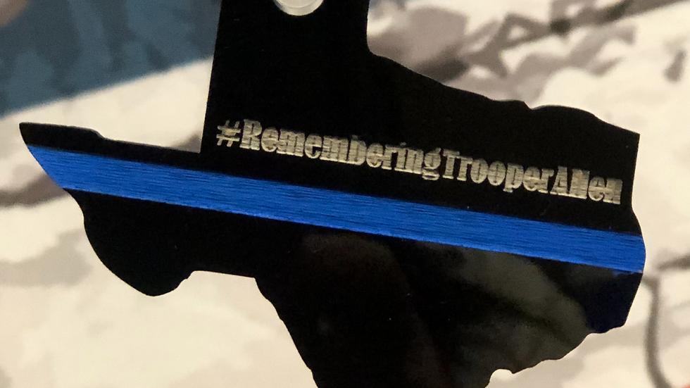 #RememberingTrooperAllen Keychain