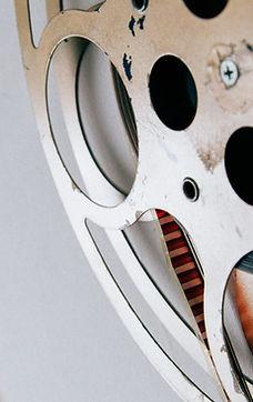 film production company - reel closeup