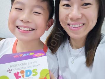 MG Kids增强孩子免疫力,头痛不见啦