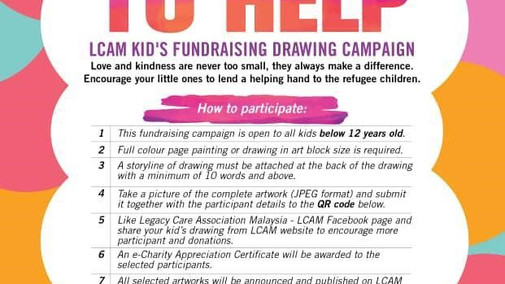 Kid's Fundraising Poster