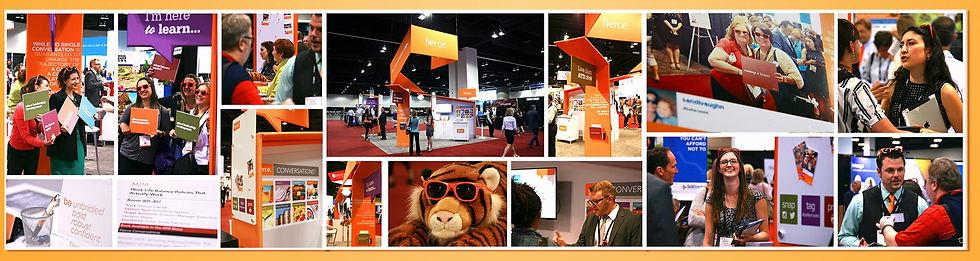 Nicholas Nelson Branding Marketing Designer fierce inc ATD tradeshow booth design