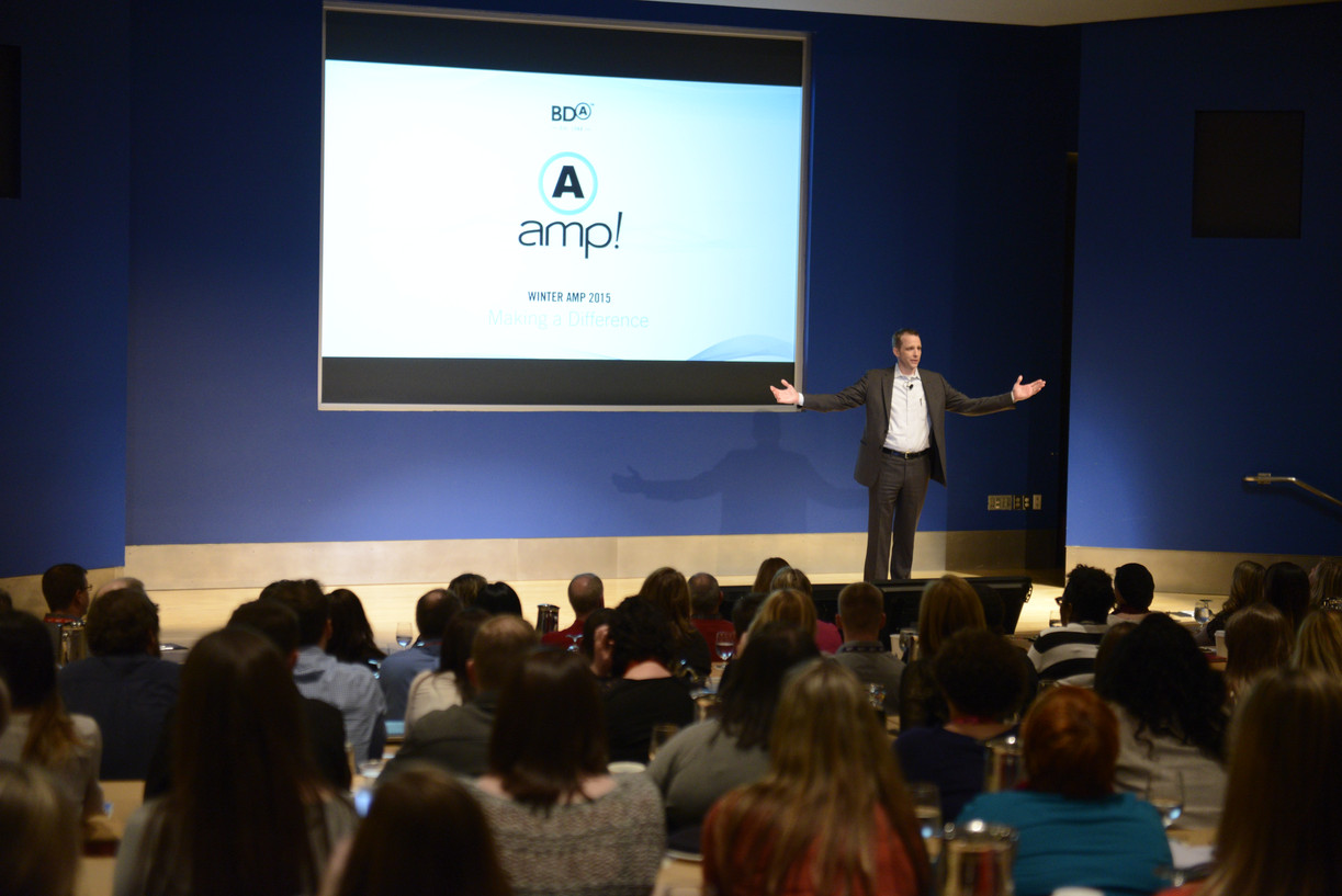 Executive Keynote presentation design for BDA Inc