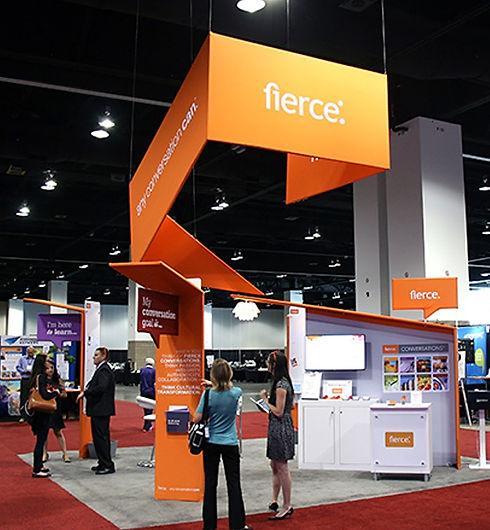 Nicholas Nelson Branding Marketing Designer fierce inc ATD tradeshow booth design concept
