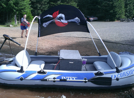 CUSTOM INTEX BOAT