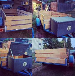 DIY trailer re-fab