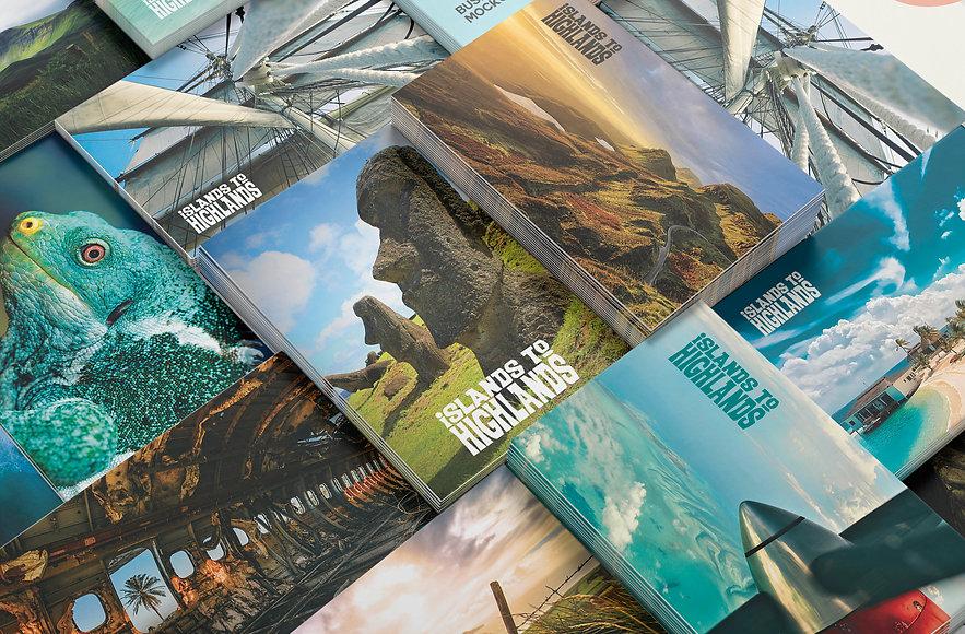 Nicholas Nelson Branding Marketing Designer Islands to Highlands business cards