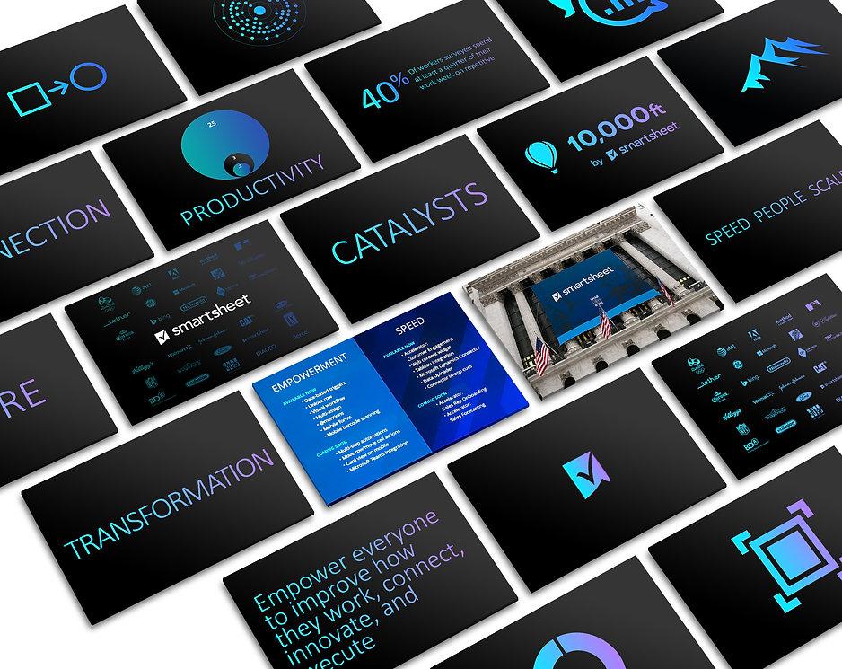 Nicholas Nelson Branding Marketing Designer Presentation Design Smartsheet Presentation Engage
