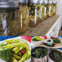 Growing and canning my own food