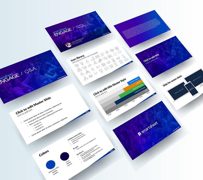Nicholas Nelson Branding Marketing Designer Presentation Design Smartsheet Engage Presentation