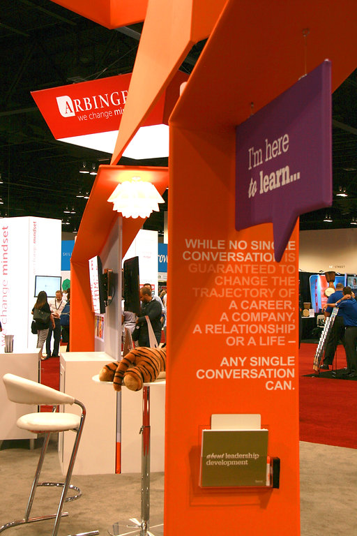 Nicholas Nelson Branding Marketing Designer fierce inc ATD tradeshow booth design interaction