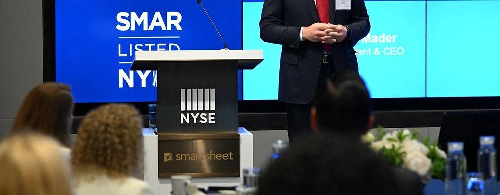 Nicholas Nelson Branding Marketing Designer NYSE Smartsheet Presentation Design