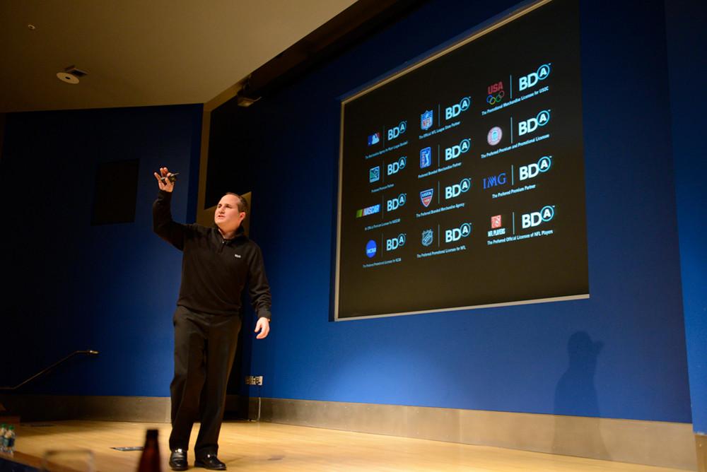 CEO Keynote presentation design for BDA Inc
