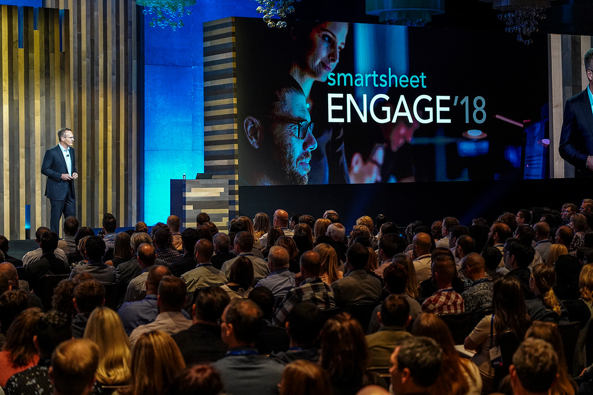 Annual Smartsheet ENGAGE conference