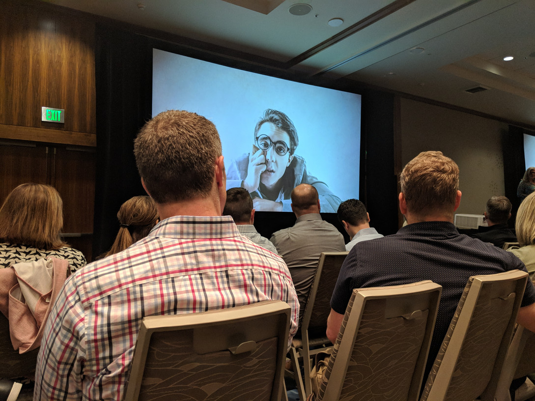 Executive Marketing Keynote presentation