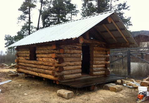 Rugged Milled butt and pass cabin