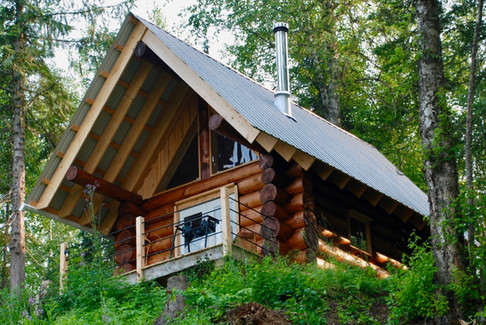 Guest Cabin on a hill