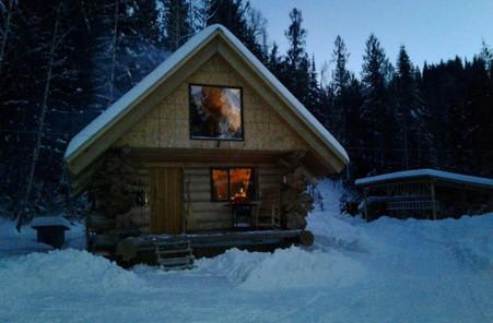 Off Grid Cedar Cabin