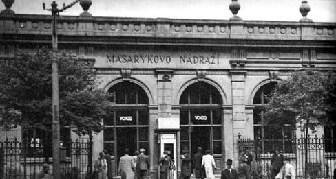 Praha nyní a dnes
