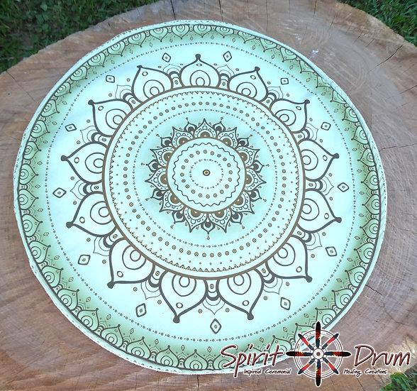Altar Cloth - Moss Mandala