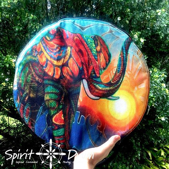"""16""""Turquoise Elephant bag"""