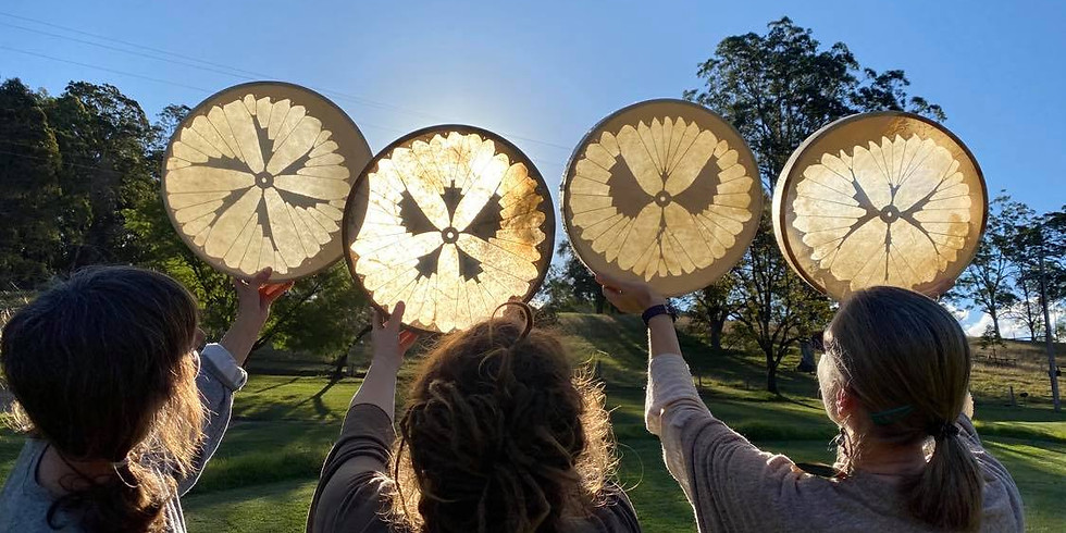 Medicine Drum Making and/or Discovery - Ipswich Brisbane