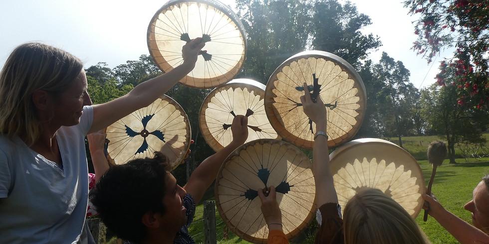 Medicine Drum Making - Bellingen 2020