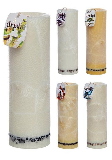 Drishti Tall Pillar Candle