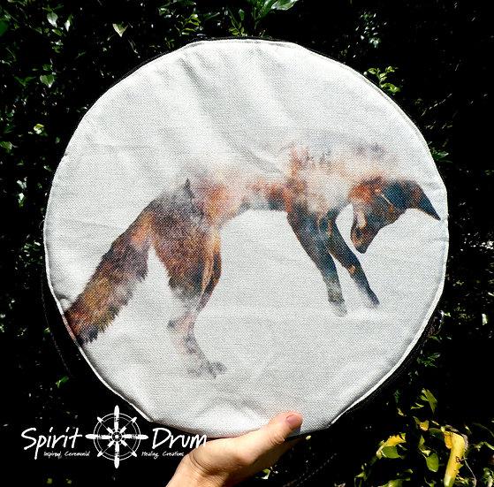 "16"" Brown Jumping Fox"
