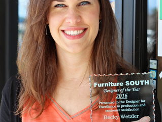 Furniture South Announces Interior Designer of the Year & Plans for Growth in 2017