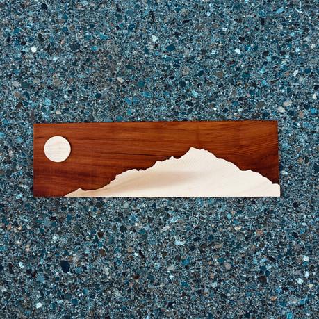 Cedar mountainscape