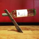 """""""Levitating"""" wine bottle"""