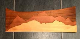 Cedar multi-tone mountainscape