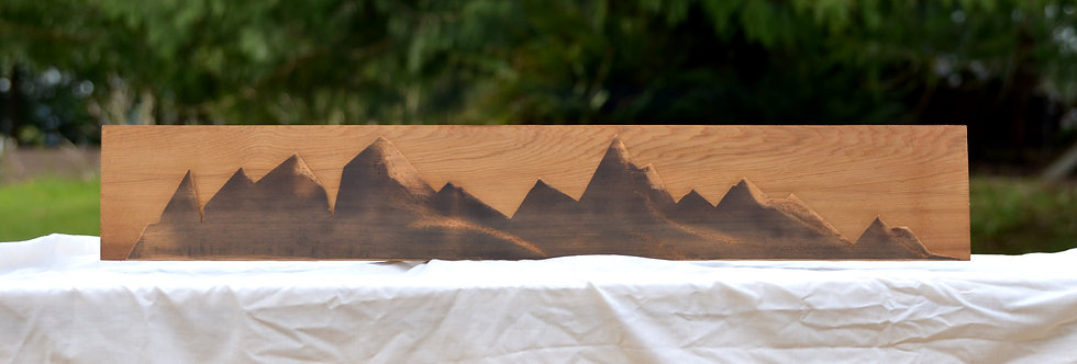 Unnamed Geometric Mountainscape