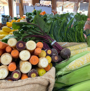 Rainbow Carrots & Sweet Corn