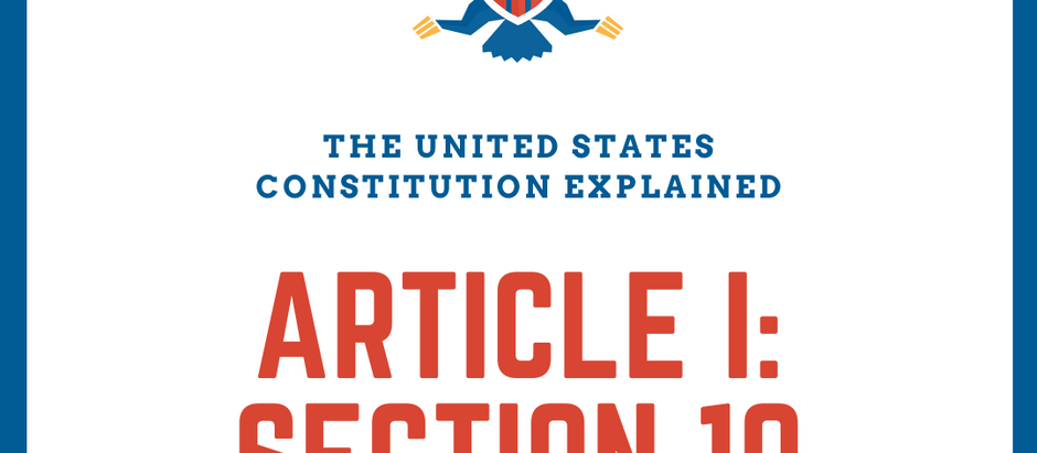 The United States Constitution Explained: Article I - The Legislature: Part 10 - National Supremacy
