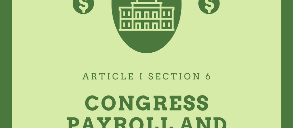 The United States Constitution Explained: Article I - The Legislature: Part 6 - Why be in Congress?