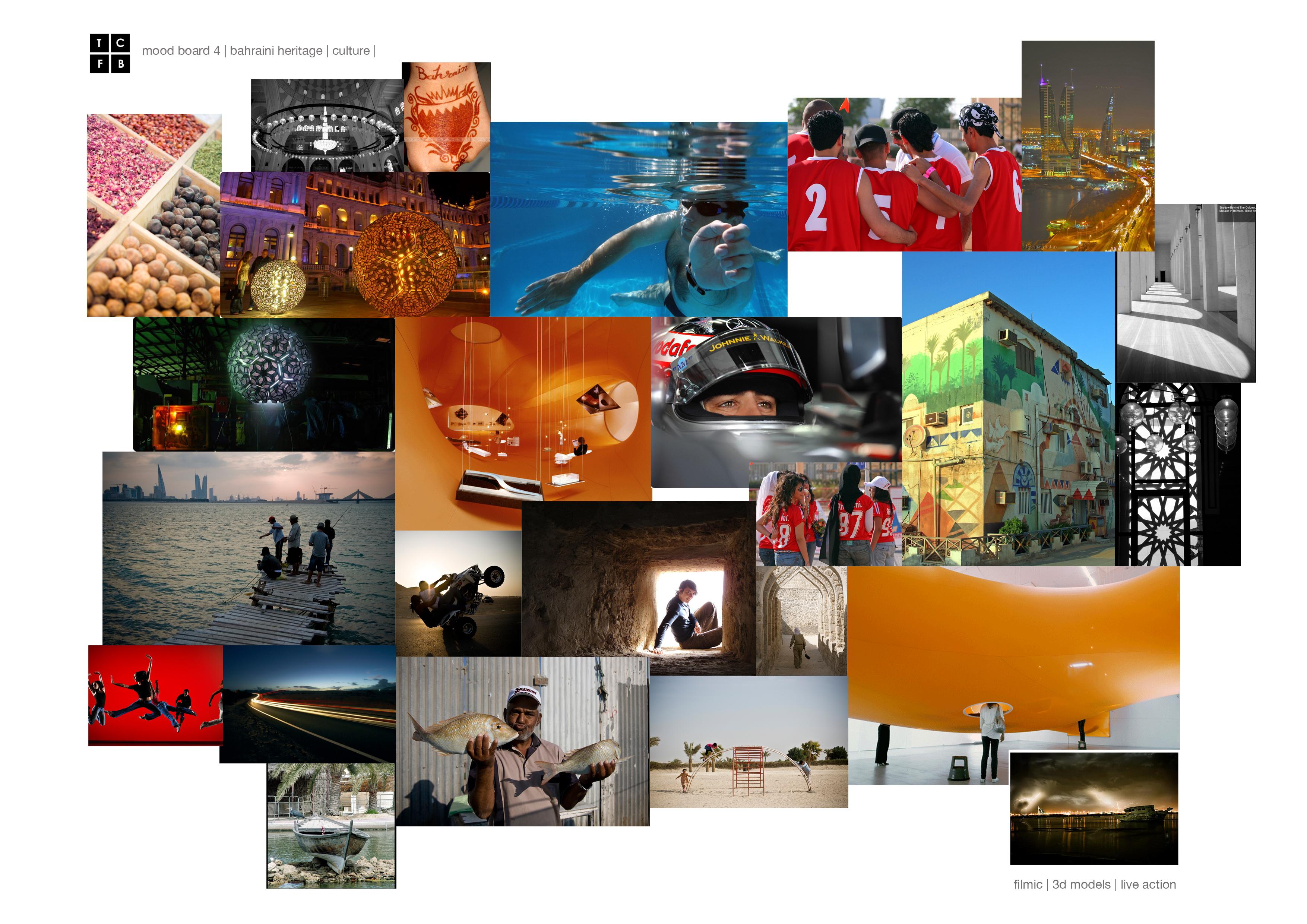 Style board - Bahrain TV