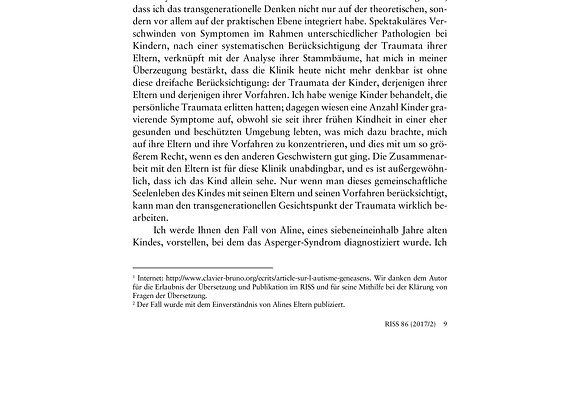 Clavier_Autismus und transgenerationelle Psychoanalyse_86