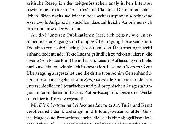 Lahl_Die Übertragung bei Lacan_89