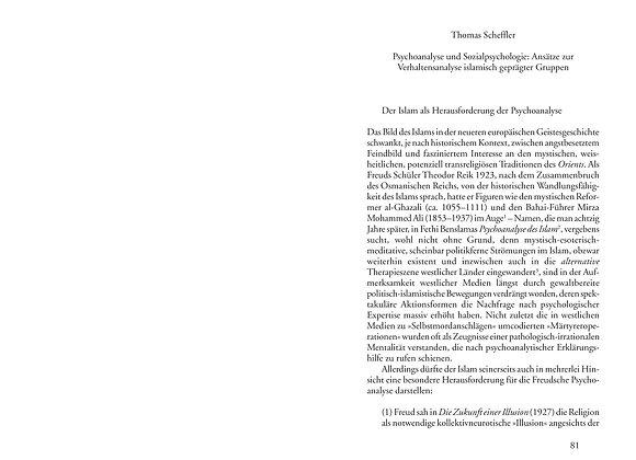 Scheffler_Psychoanalyse und Sozialpsychologie