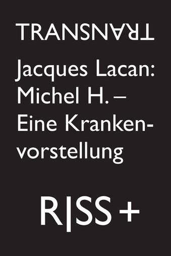 RISS 91 + - Jacques Lacan
