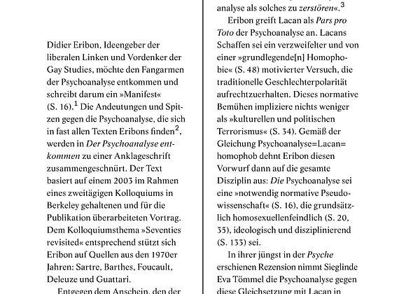 Lahl_Eribon-Der Psychoanalyse entkommen