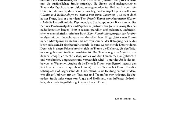 Wegner_Freuds Traum von einer neuen Wissenschaft_86