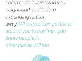 Focus on Building Your Business Locally to See Faster Growth