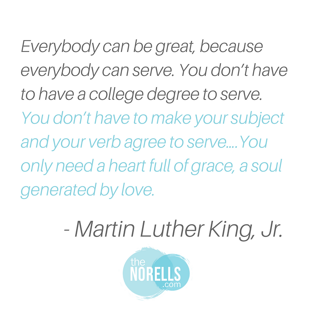 Martin Luther King quote on leadership