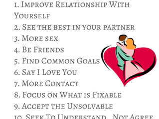 Top 12 Tips For a Better Relationship