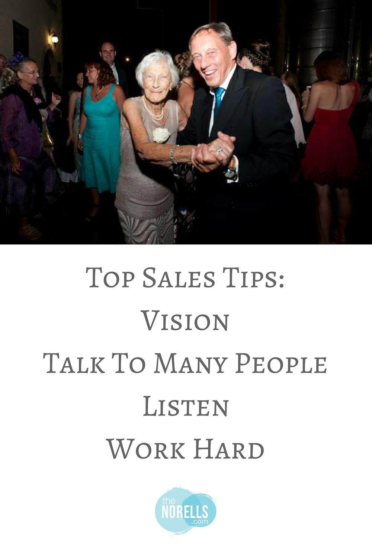Sales tips listen
