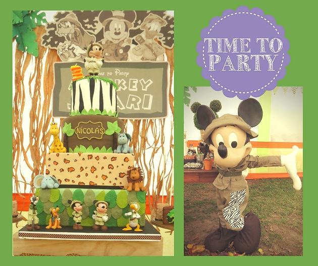 Mickey Safari Para Sebastian