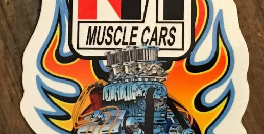 2021 Version of our NH Muscle Cars Decal